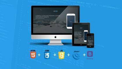 Build Responsive Website Using HTML5, CSS3, JS And Bootstrap (2016)