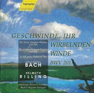 Helmuth Rilling - J.S. Bach: Geschwinde, ihr wirbelnde Winde BWV 201 (1997)