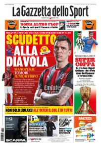 La Gazzetta dello Sport – 20 gennaio 2021