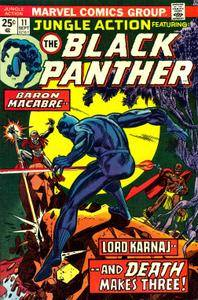 Jungle Action v2 011 1974 featuring Black Panther