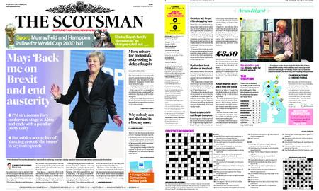 The Scotsman – October 04, 2018