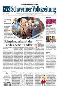 Schweriner Volkszeitung Hagenower Kreisblatt - 07. November 2019