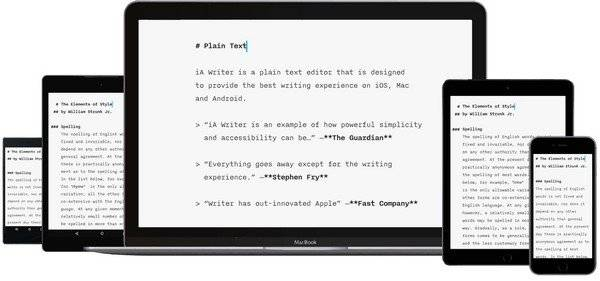 iA Writer 4.0.3 Multilingual MacOSX