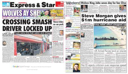 Express and Star Sandwell Edition – September 09, 2017