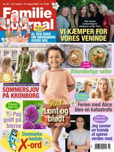 Familie Journal – 04. august 2020