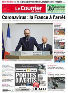 Le Courrier de l'Ouest Cholet – 15 mars 2020