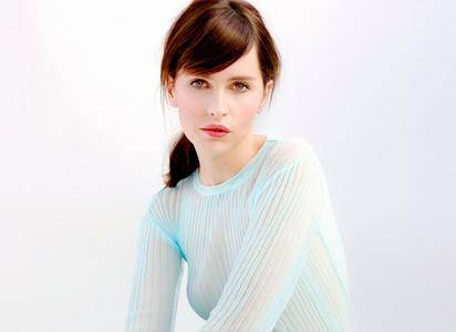 Felicity Jones by Yu Tsai for InStyle UK March 2015