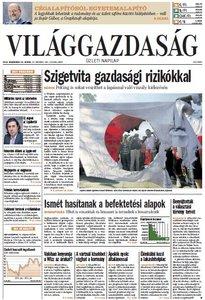 Világgazdaság from Wednesday, 19. September 2012