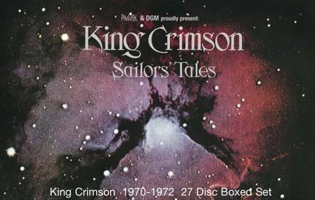 King Crimson - Sailors' Tales (2017) [27-Disc Box Set]