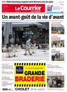 Le Courrier de l'Ouest Cholet – 19 mai 2021