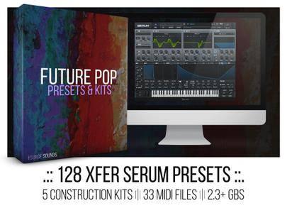 Surge Sounds Future Pop Xfer Serum Presets WAV MIDI