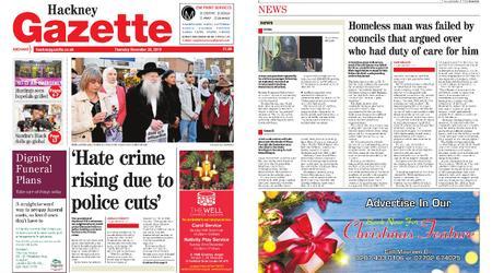 Hackney Gazette – November 28, 2019