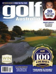 Golf Australia - January 2018