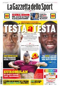 La Gazzetta dello Sport Roma – 15 settembre 2020