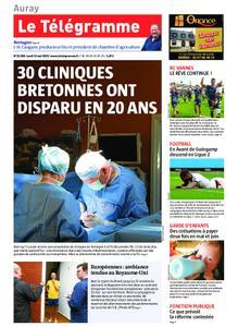 Le Télégramme Auray – 13 mai 2019