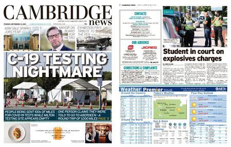 Cambridge News – September 15, 2020