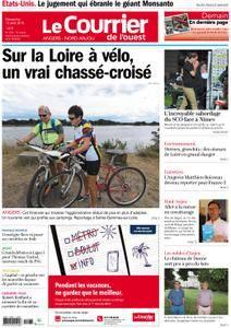 Le Courrier de l'Ouest Angers - 12 août 2018