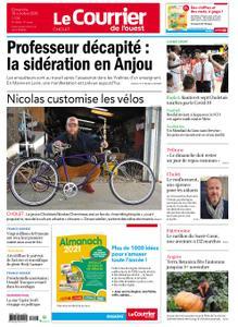 Le Courrier de l'Ouest Cholet – 18 octobre 2020