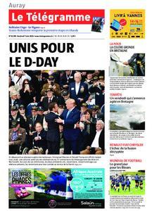 Le Télégramme Auray – 07 juin 2019