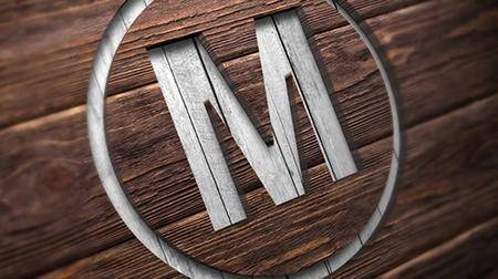 MA - Wooden Logos Mockup 92740