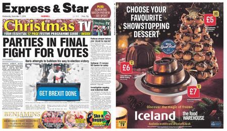 Express and Star Sandwell Edition – December 11, 2019