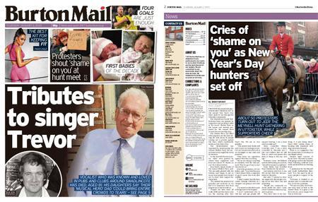 Burton Mail – January 02, 2020
