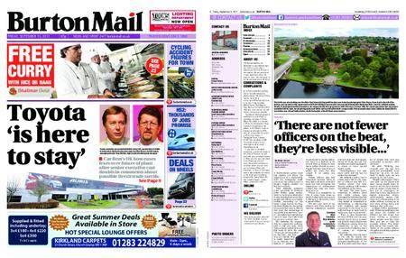 Burton Mail – September 15, 2017