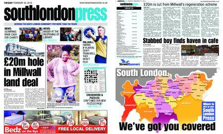 South London Press – February 20, 2018