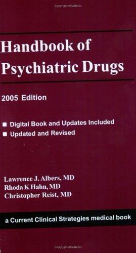 Handbook of Psychiatric Drugs - Edition 2005