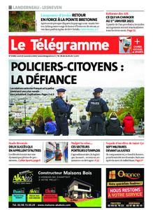 Le Télégramme Landerneau - Lesneven – 23 novembre 2020
