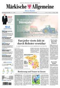 Märkische Allgemeine Dosse Kurier - 25. April 2019