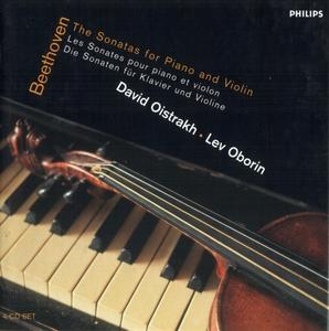 David Oistrakh, Lev Oborin - Beethoven: Complete Violin Sonatas (2001) (Repost)