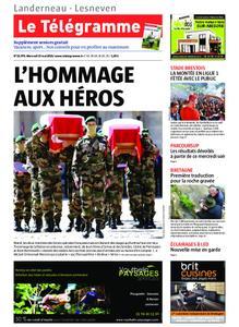 Le Télégramme Landerneau - Lesneven – 15 mai 2019