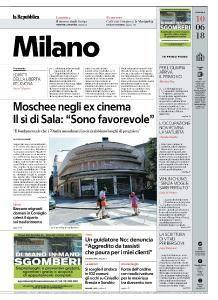 la Repubblica Milano - 10 Giugno 2018