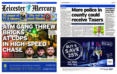 Leicester Mercury – August 24, 2019