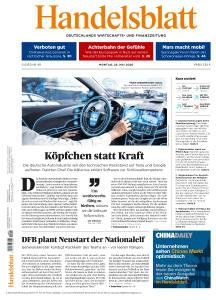 Handelsblatt - 25 Mai 2020