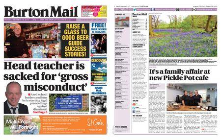 Burton Mail – September 18, 2017