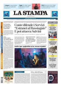 La Stampa Imperia e Sanremo - 24 Ottobre 2019