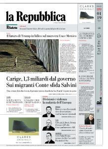 la Repubblica - 9 Gennaio 2019