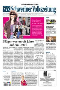 Schweriner Volkszeitung Hagenower Kreisblatt - 13. November 2019