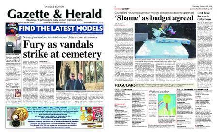 Gazette & Herald – February 22, 2018