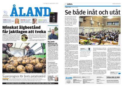 Ålandstidningen – 14 september 2019