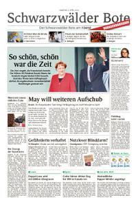 Schwarzwälder Bote Hechingen - 06. April 2019