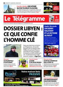 Le Télégramme Brest Abers Iroise – 21 septembre 2020