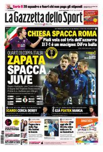 La Gazzetta dello Sport Roma – 31 gennaio 2019