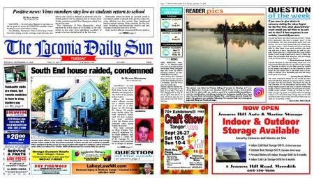The Laconia Daily Sun – September 21, 2020