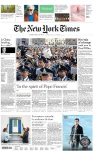 International New York Times - 5-6 October 2019