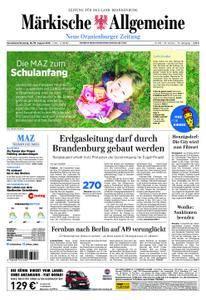 Neue Oranienburger Zeitung - 18. August 2018