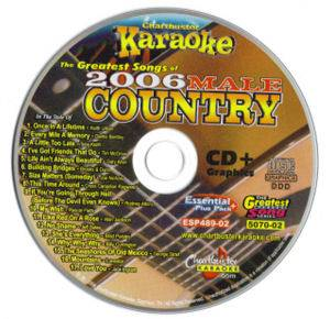 2006 Male Country (17 Songs) CD 2 Karaoke MP3+G