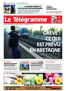 Le Télégramme Concarneau – 05 décembre 2019